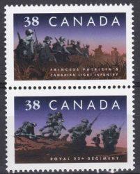 Érudition Philatélique : Canada – Le Royal 22ème Régiment Et La Princess Patricia's Canadian Light Infantry (le PPCLI)